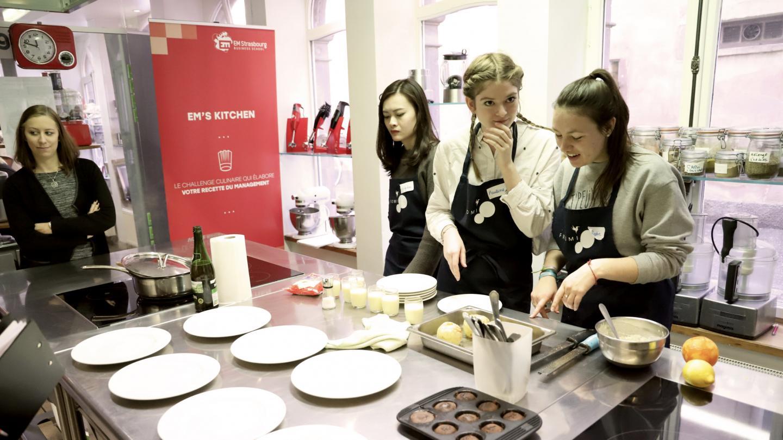 Cap Career Seminar: EM Strasbourg Students Cooked All Week Long - EM Strasbourg