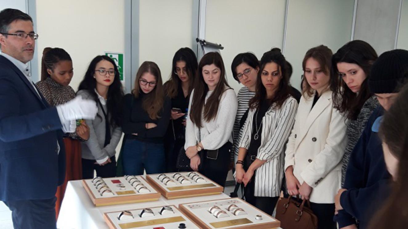Students On Time at Omega! - EM Strasbourg