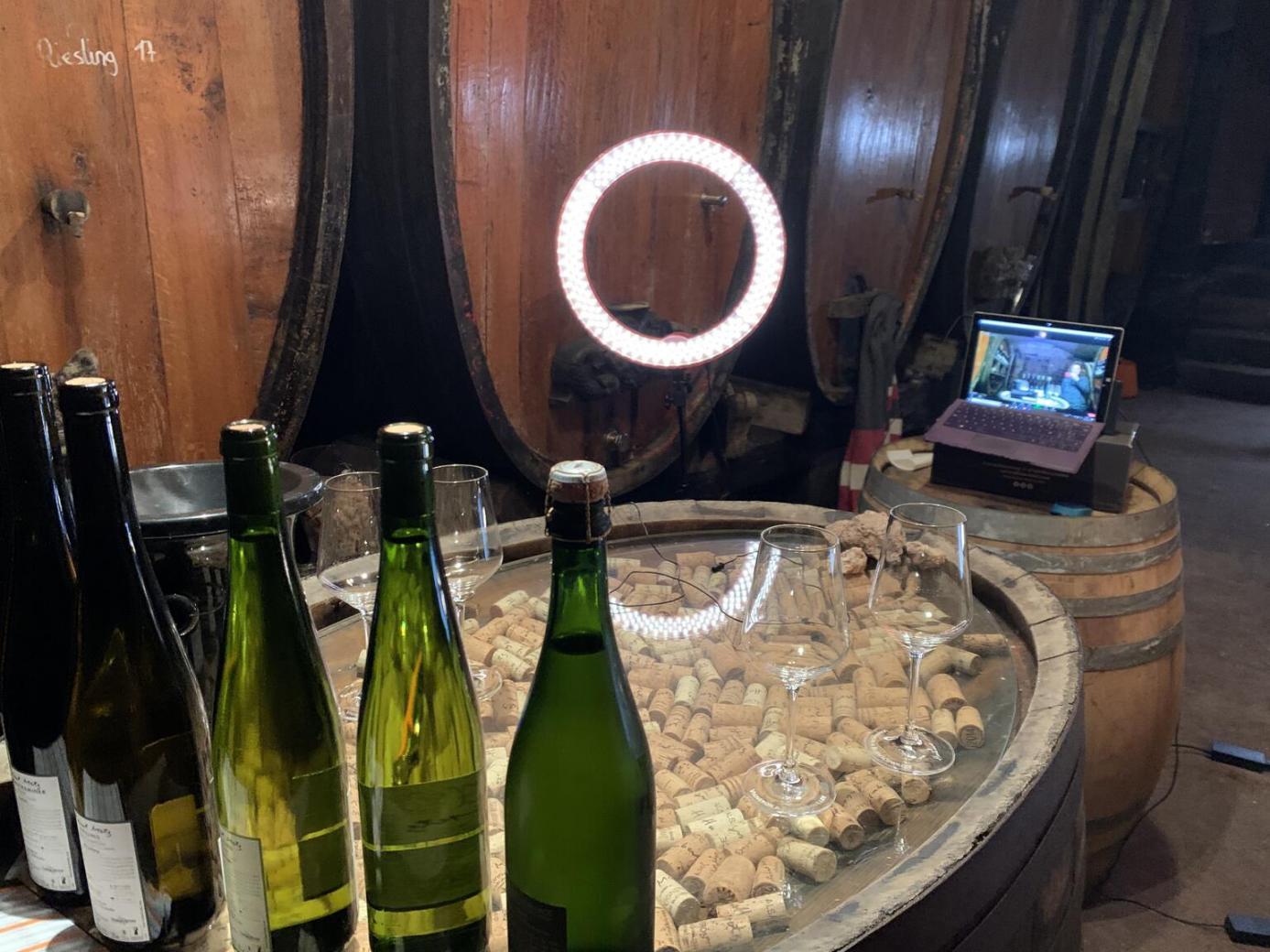 Dégustation virtuelle de vins, <c>une première pour les étudiants du parcours Vin et Tourisme</c> - EM Strasbourg