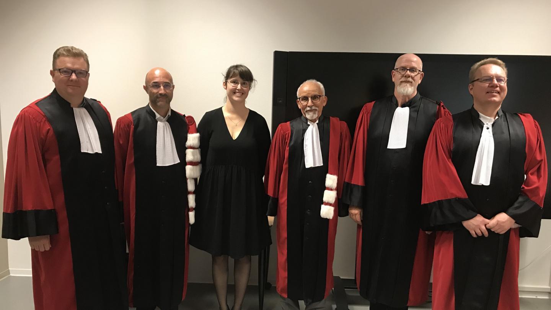 Jeanne Bessouat's Dissertation Defense - EM Strasbourg