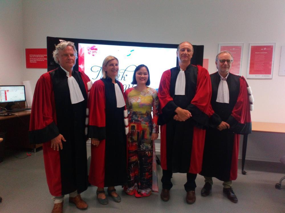 Nguyen Tu Anh's Dissertation Defense - EM Strasbourg
