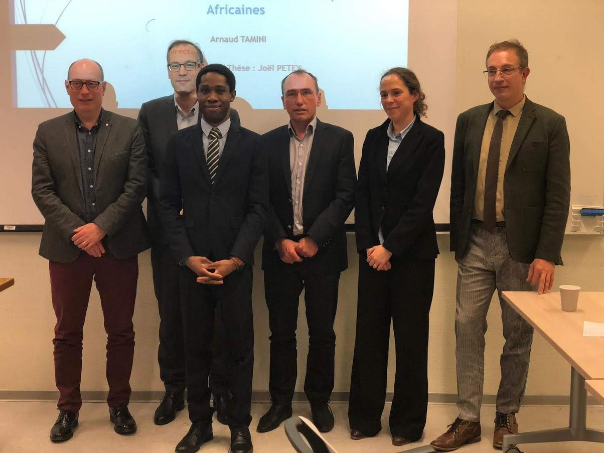 Verteidigung der Dissertation von Pawesse Arnaud Tamini - EM Strasbourg