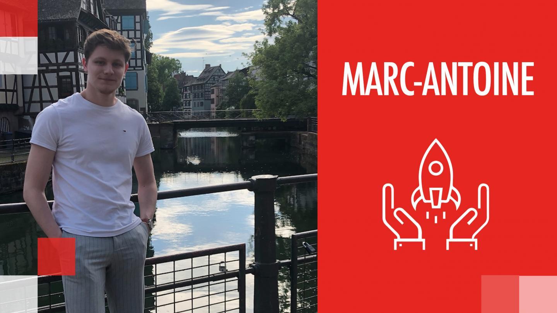 Success Story de Marc-Antoine : d'alternant à superviseur d'alternante - EM Strasbourg