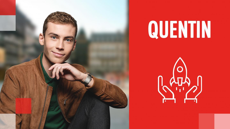 Success Story de Quentin : d'une passion à une profession - EM Strasbourg