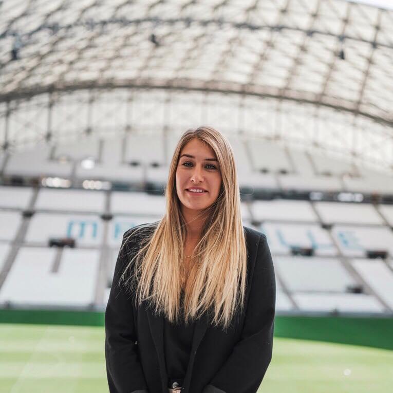 Zoom sur le parcours de Manon Jacquot, Chef de projet Hospitality & Events de l'Olympique de Marseille - EM Strasbourg