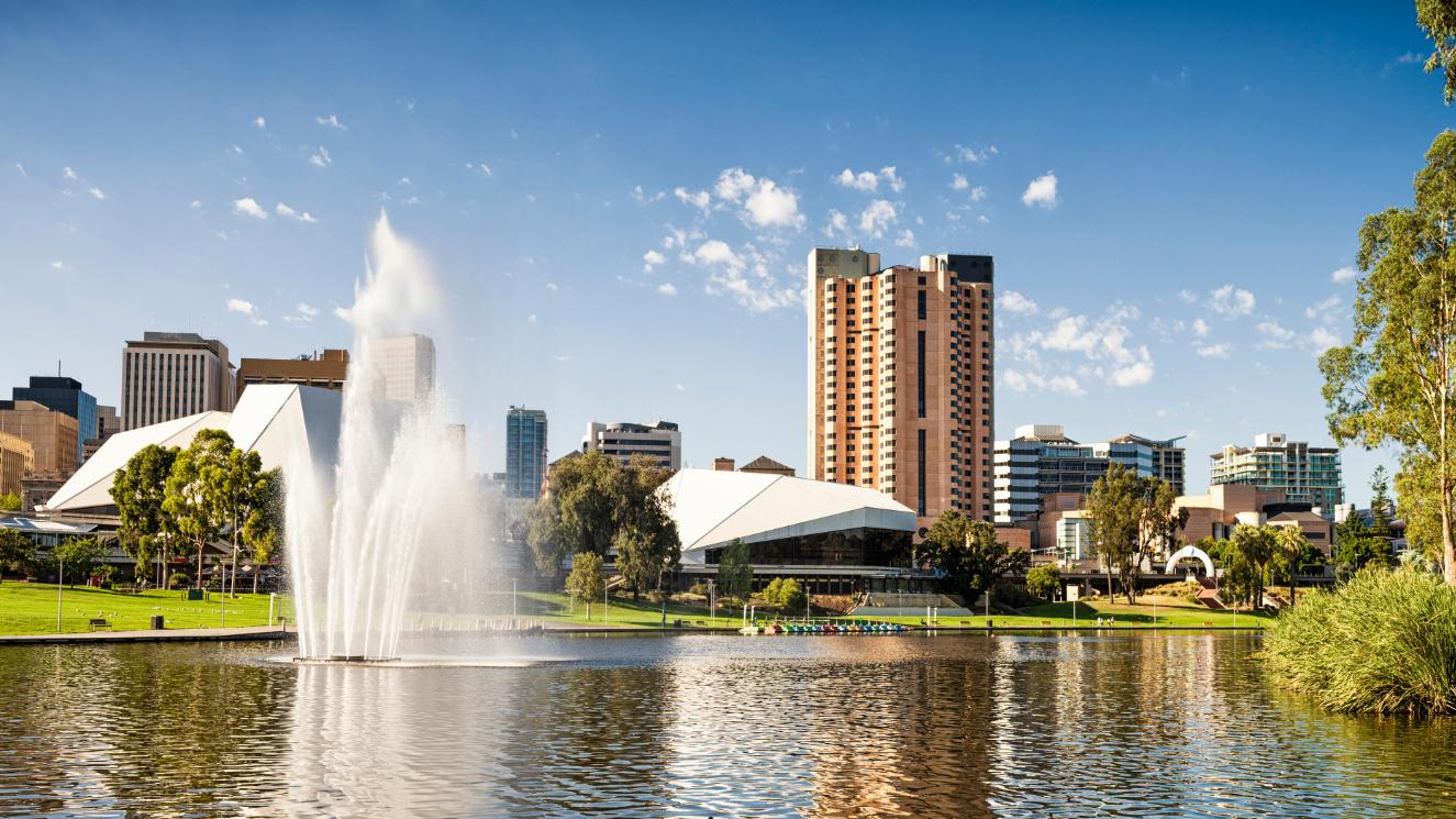 University Of Adelaide - EM Strasbourg
