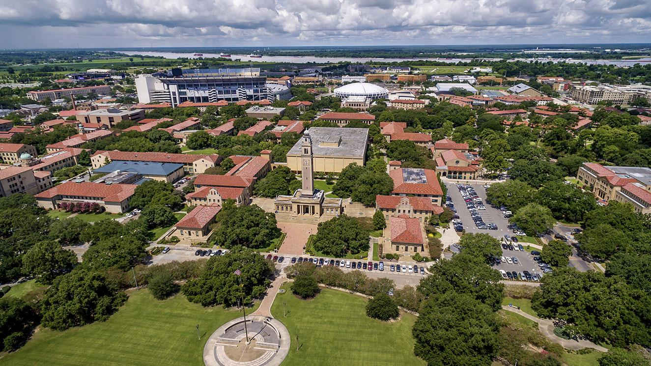 Louisiana State University - EM Strasbourg