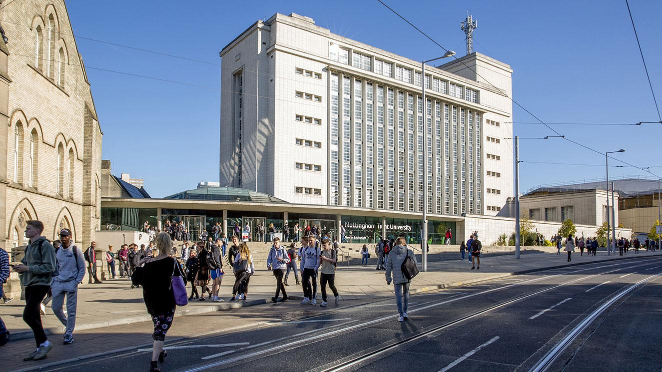 Nottingham Trent University - EM Strasbourg